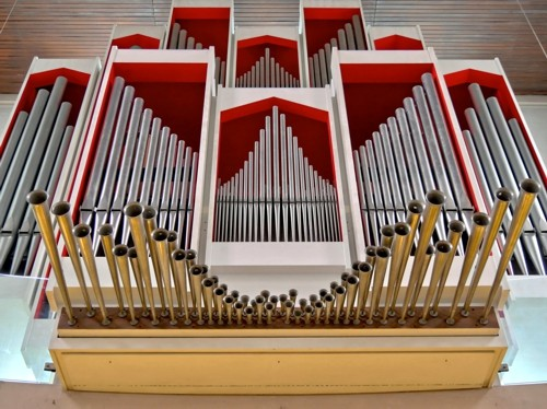 Orgel in Bad Salzuflen vollendet